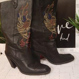 Gianni Bini Neal Women's Cowboy boots, 8.5